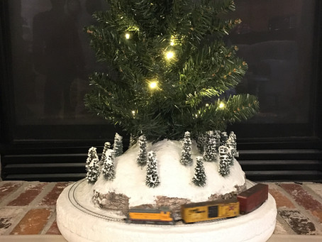 A Christmas Micro Layout