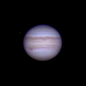 """What Jupiter and Saturn look like through a 6"""" Telescope"""