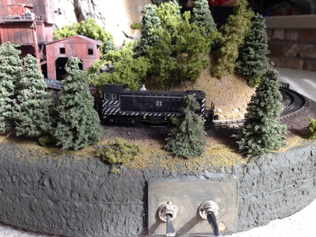 "15"" x 20"" N Scale Micro Layout"