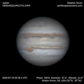 Jupiter Animation 19-July-2020
