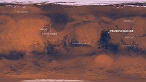 Perseverance Lands on Mars