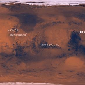 Perseverance Lands on Mars