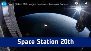 Amazing Time Lapse From ISS
