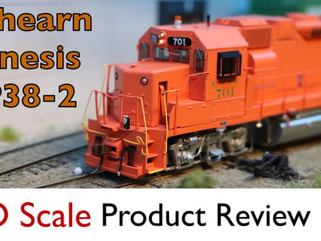 Athearn Genesis GP38-2 with DCC and Tsunami 2 Sound