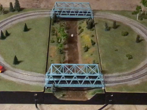 A Modular N Scale Layout