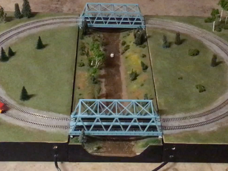 A Modular N Scale Layout
