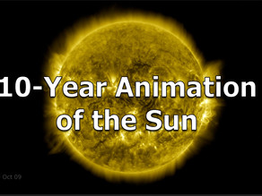 A 10-Year Animation of the Sun