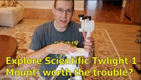 Explore Scientific Twilight I Mount