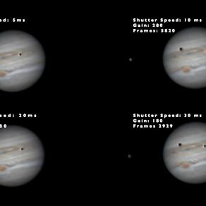 Gain vs Shutter Speed when Imaging Jupiter