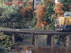 A 5x10 Foot HO Scale Layout