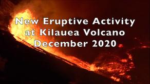 New Eruption at Kilauea Volcano