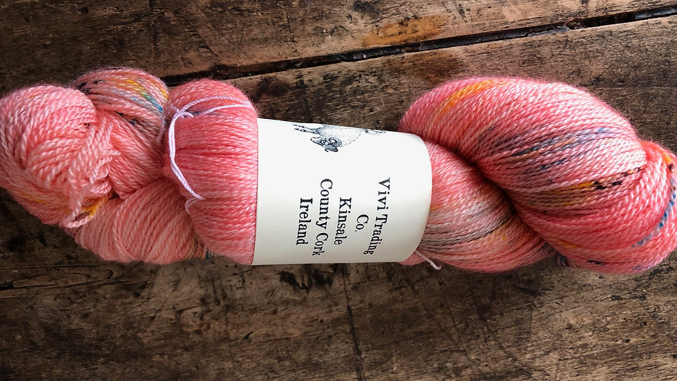 Lace Weight Silk and Merino Bridesmaid
