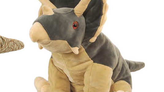 National History Museum Triceratops by Wild Republic