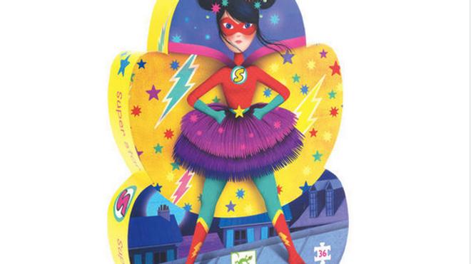 Djeco Silhouette Puzzel Super Star