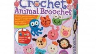 Crochet Animal Brooches