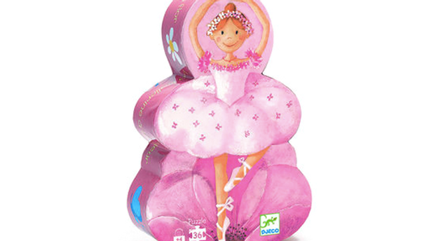 Djeco Silhouette Puzzel Ballerina
