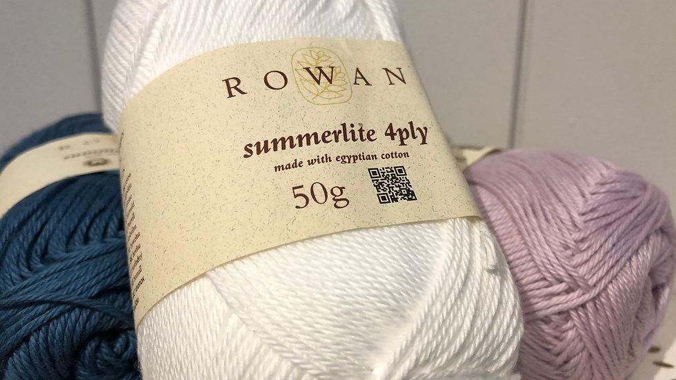 Summer: Rowan Summerlite 4ply