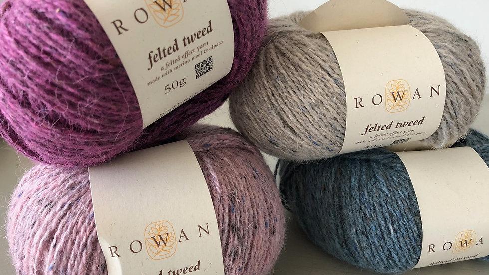 DK Wool: Rowan Felted Tweed