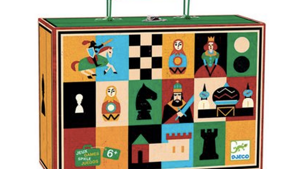 Djeco Chess and Chequers Set