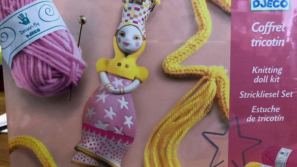 Djeco Knitting Dolly Set
