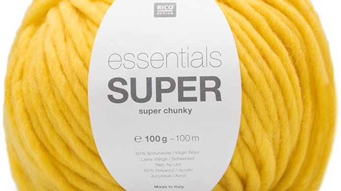 Superchunky Wools and Yarns: Rico Essentials Super