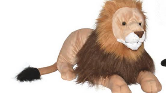 Wild Republic Jumbo Lion