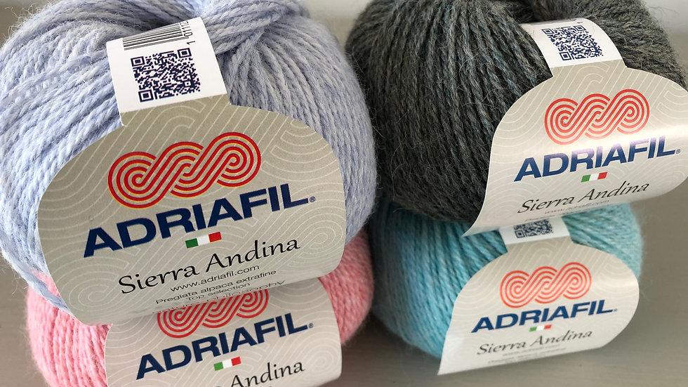 DK Wool and Yarn: Adriafil Sierra Andina