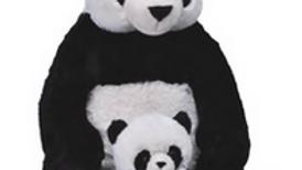 Wild Republic Mum and Baby Panda Bear