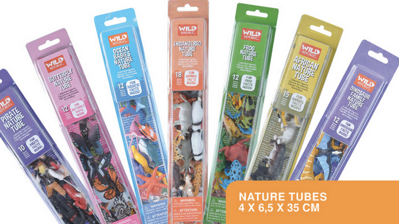 Wild Republic Nature Tubes