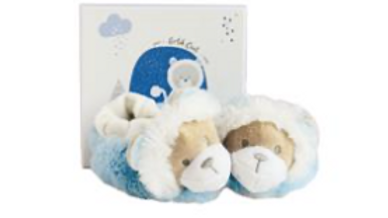 Doudou et Compagnie Slippers with rattles