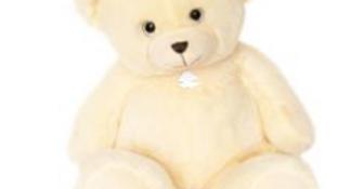Histoire d'Ours Bellydou Bear - Creme