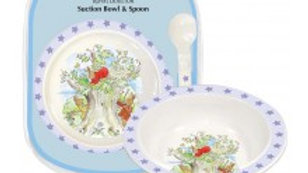 Royal Doulton Bunnykins Suction Bowl and Spoon