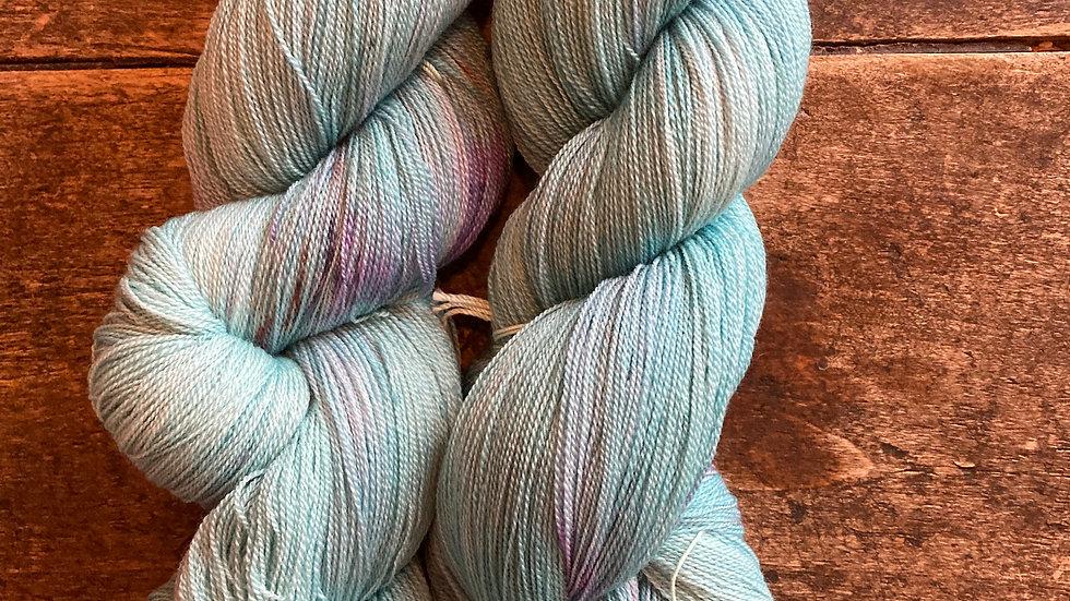 Lace Weight Silk and Superfine Merino Kerleven