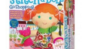 Stitch a doll kit and pet kitty