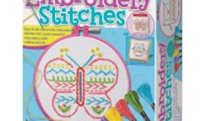 4M Easy to Embroidery Stitches