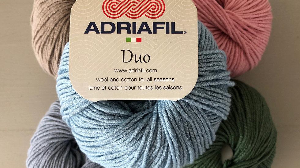DK Wool/Cotton: Adriafil Duo