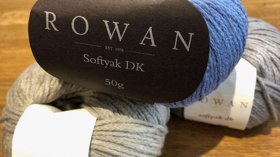 DK Wool and Yarn:Rowan Soft Yak DK 50gm