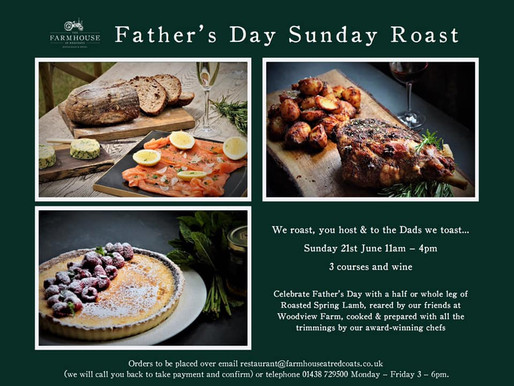 Father's Day all sorted at Redcoats