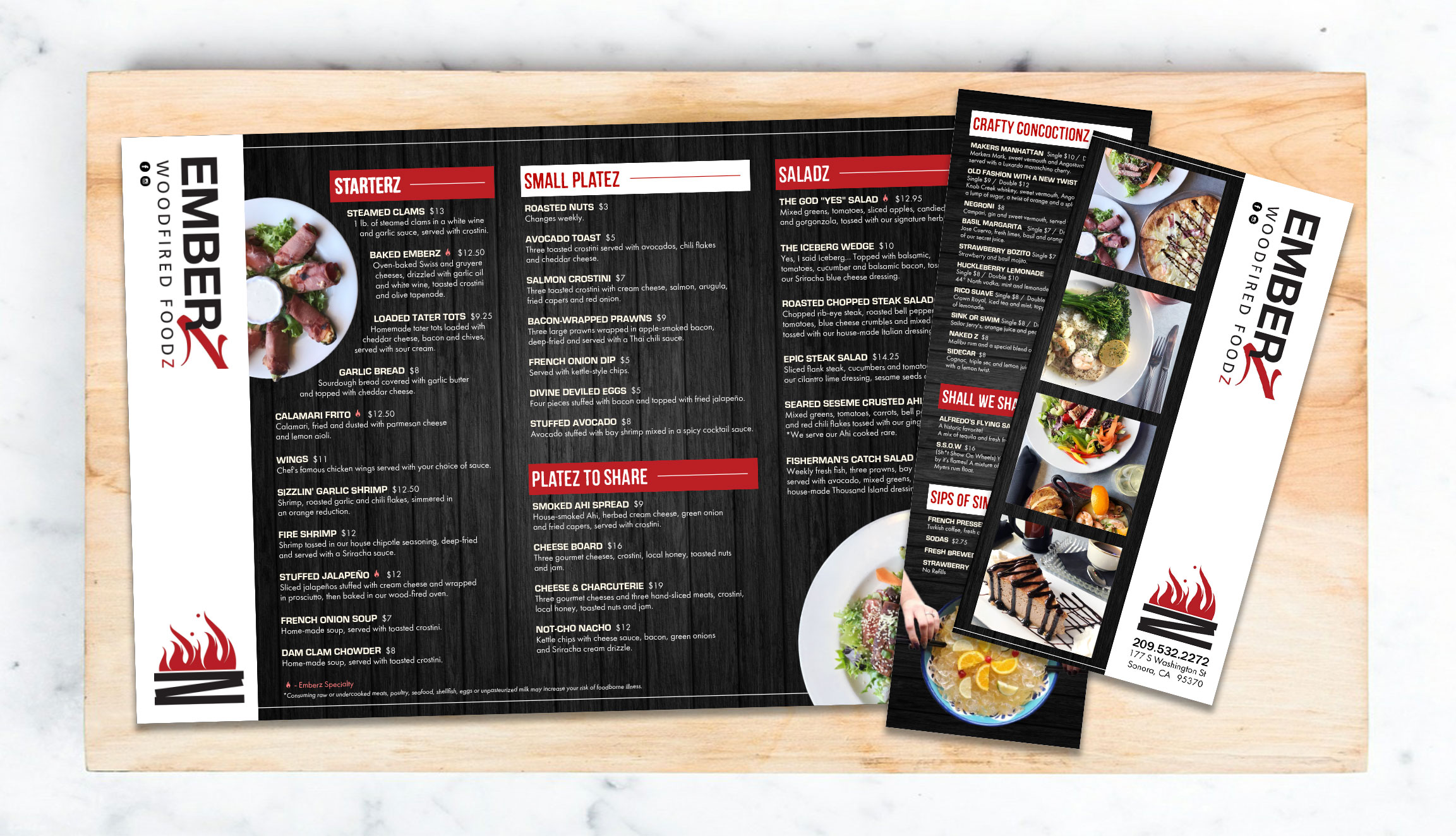 Menu Set Design