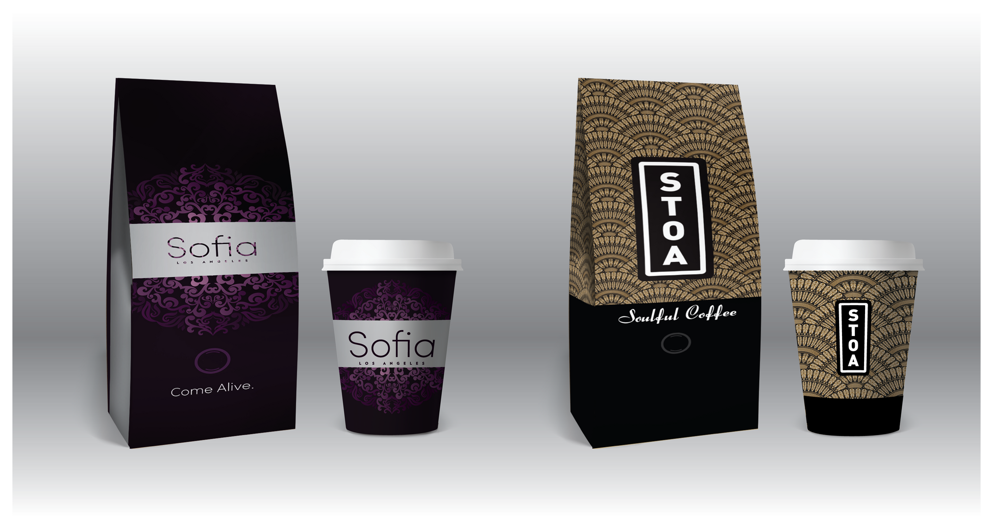 Coffee Bags & Cups