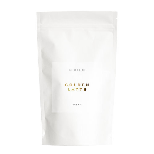 Golden Latte by Ginger & Co