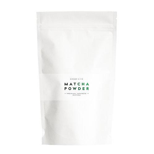 Premium Japanese Matcha Powder by Ginger & Co