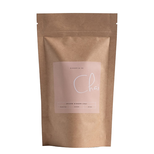 Spiced Ginger Chai Tea by Ginger & Co