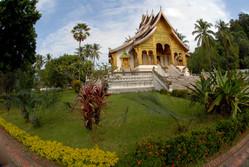 Temple at Luan Prabang, Laos