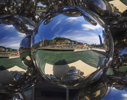 Mirrors at Guggenheim, Bilbao