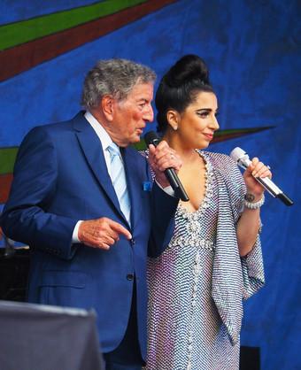 Tony Bennet and Lady Gaga
