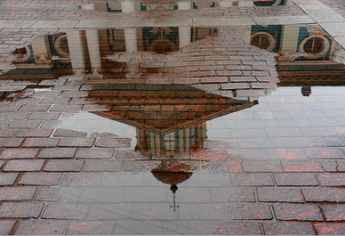 Church Reflection, St. Petersburg