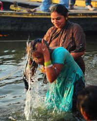 Ritual Bath, Ganges, Varanasi