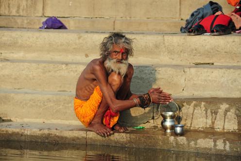 Tea at Ganges, Varanasi
