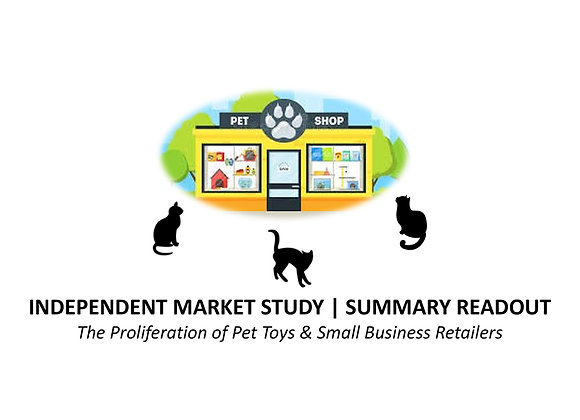 Pet Industry | Market Survey for SMB Retailers | May 2018